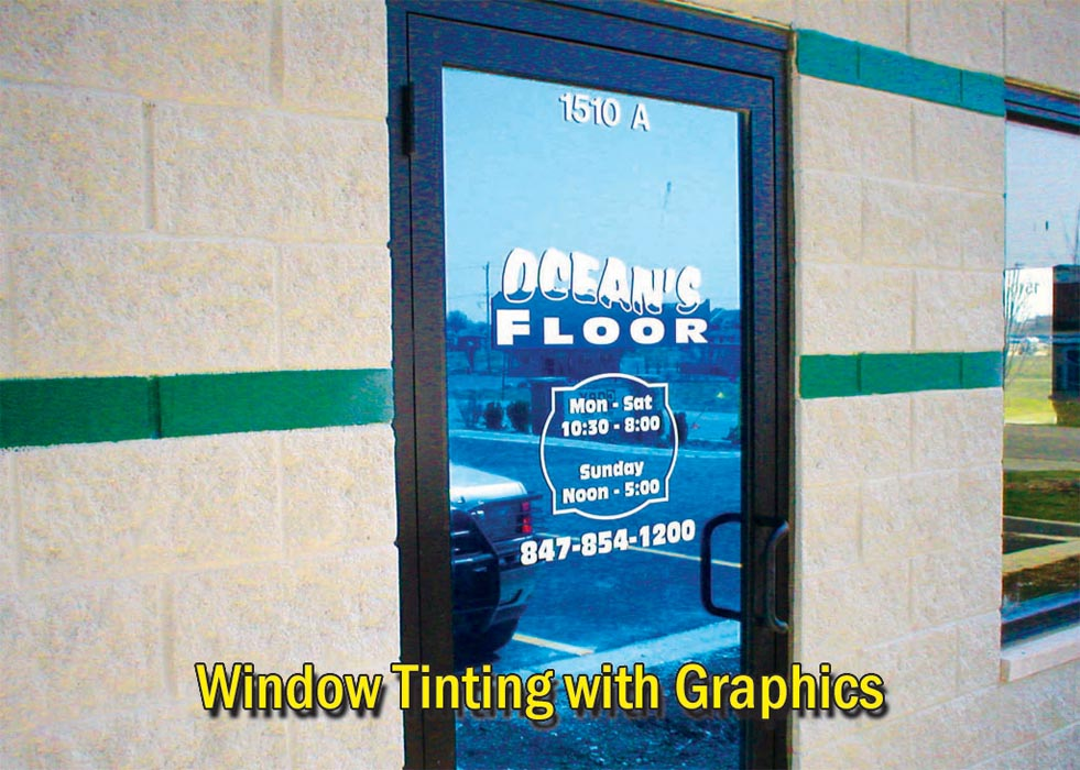 Window Tinting with Graphics